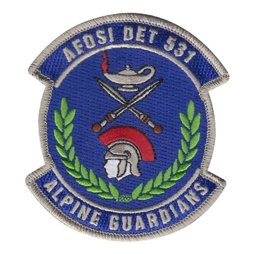 AFOSI Det 531 Aviano AB U.S. Air Force Custom Patches