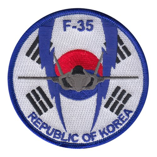 ROK Air Force International Custom Patches