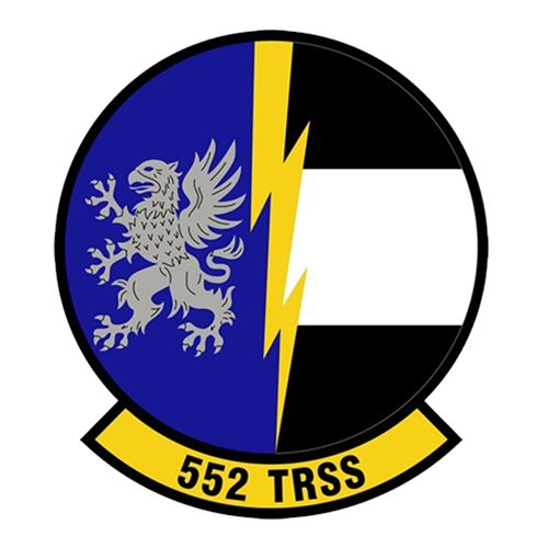 552 TRSS Tinker AFB, OK U.S. Air Force Custom Patches