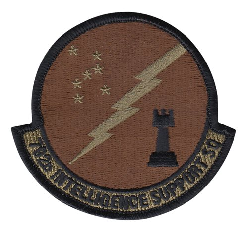 792 ISS Hickam AFB, HI U.S. Air Force Custom Patches