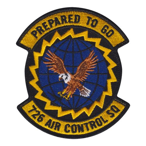 726 ACS Mt Home AFB, ID U.S. Air Force Custom Patches