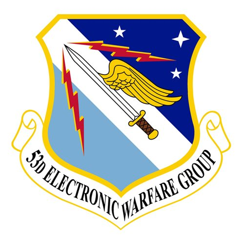 53 EWG Eglin AFB, FL U.S. Air Force Custom Patches