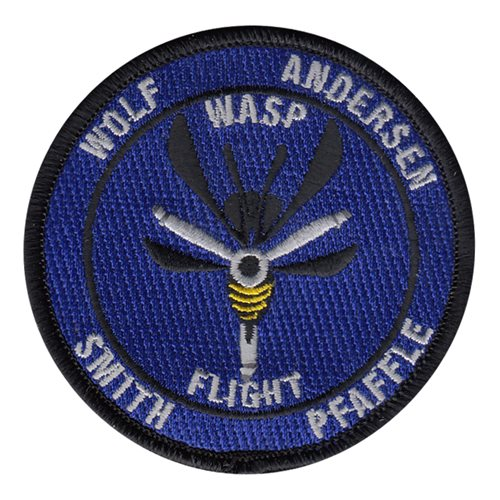 WASP Civilian Custom Patches
