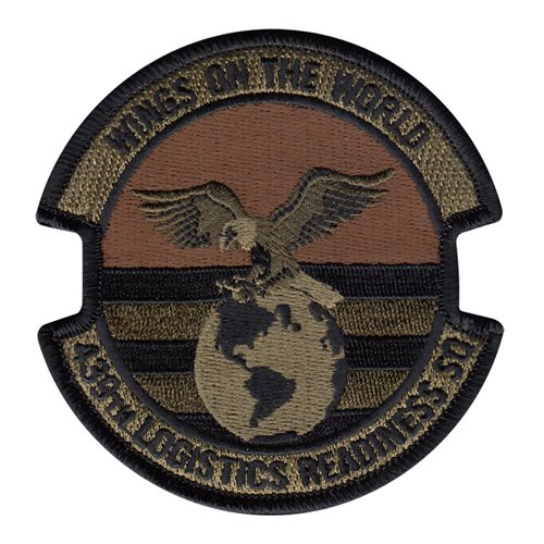 439 LRS Westover ARB U.S. Air Force Custom Patches