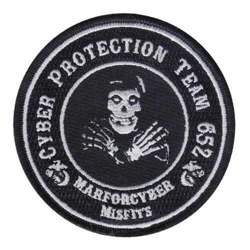 Cyber Protection Team USMC Custom Patches