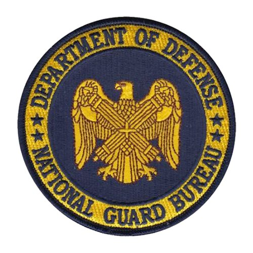 NGB Department of Defense Custom Patches