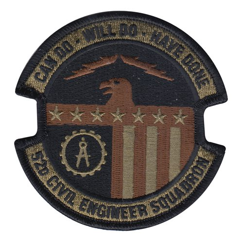 52 CES Spangdahlem AB U.S. Air Force Custom Patches