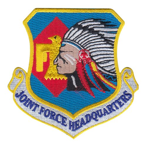 ANG JFHQ ANG Oklahoma Air National Guard U.S. Air Force Custom Patches