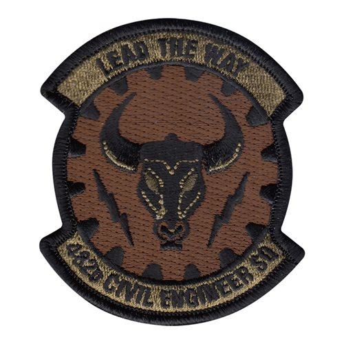 482 CES Homestead ARB, FL U.S. Air Force Custom Patches