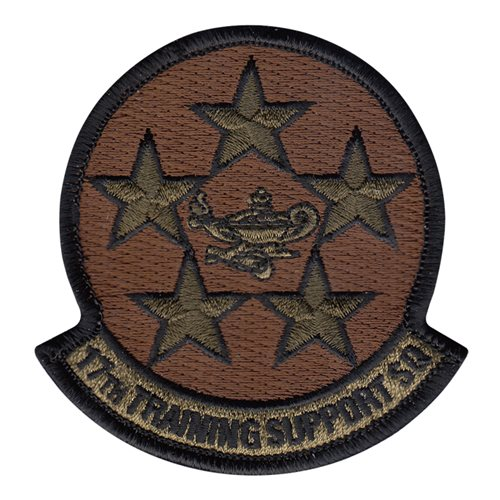17 TRSS Goodfellow AFB U.S. Air Force Custom Patches