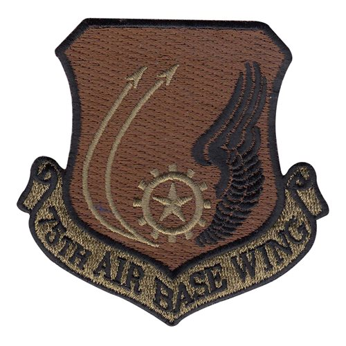 75 ABW Hill AFB U.S. Air Force Custom Patches