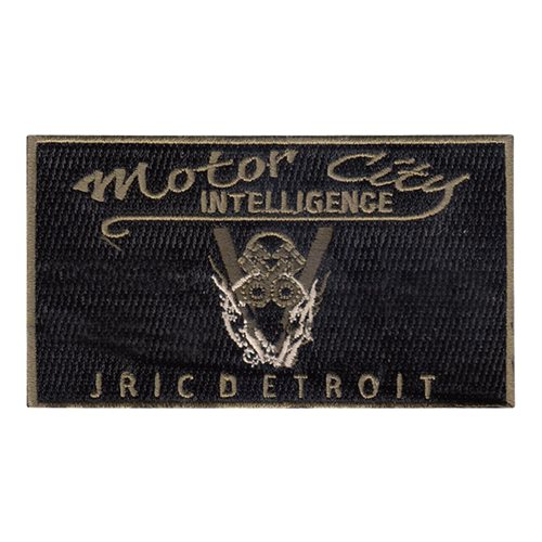 JRIC Detroit U.S. Navy Custom Patches