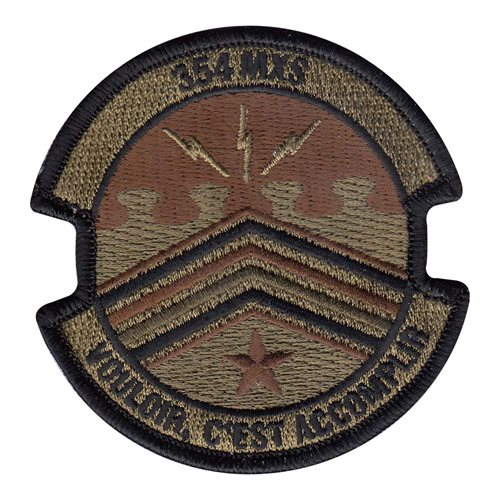 354 MXS Eielson AFB, AK U.S. Air Force Custom Patches