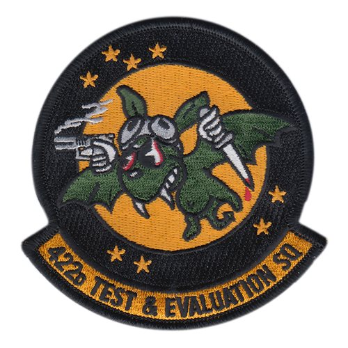 422 TES Nellis AFB U.S. Air Force Custom Patches