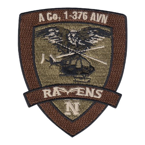 1-376 AVN U.S. Army Custom Patches