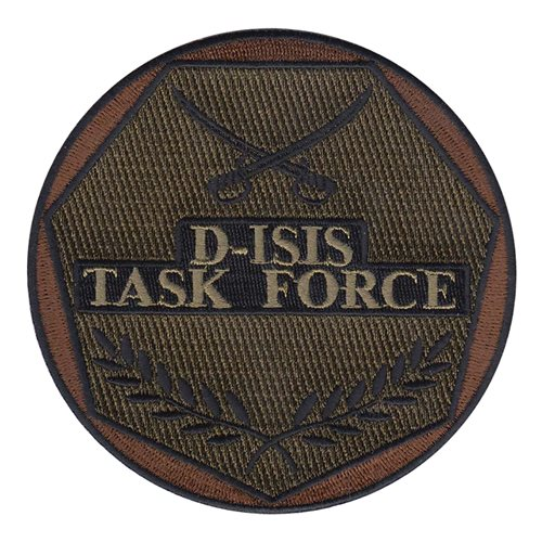 D-ISIS Task Force Department of Defense Custom Patches