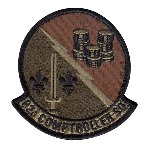 82 CPTS Sheppard AFB U.S. Air Force Custom Patches