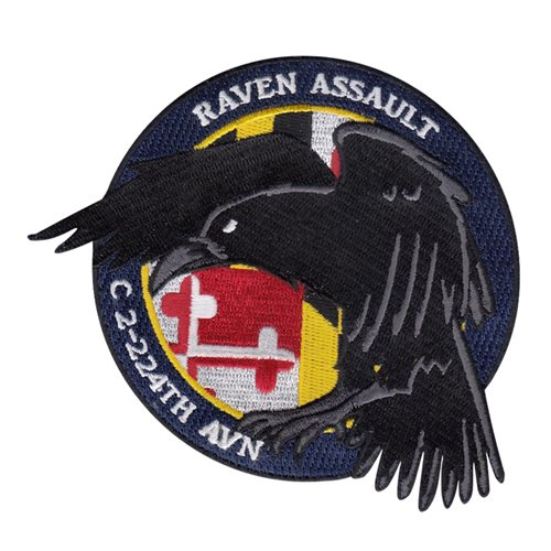 2-224 AVN U.S. Army Custom Patches