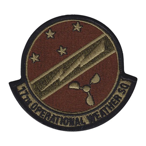 17 OWS Hickam AFB, HI U.S. Air Force Custom Patches