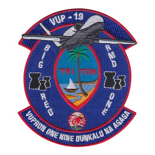 VUP-19 NAS Jacksonville U.S. Navy Custom Patches