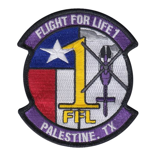 Flight For Life Civilian Custom Patches