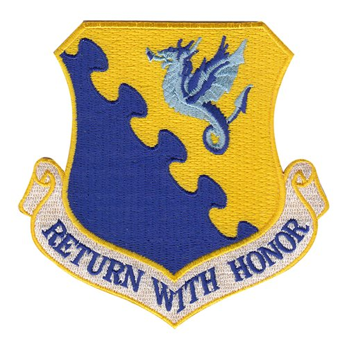 Aviano AB U.S. Air Force Custom Patches