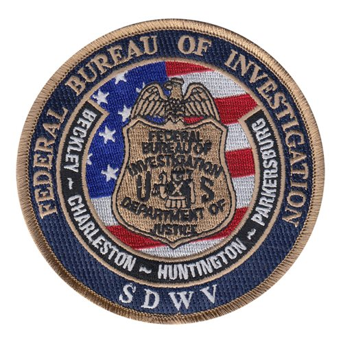 FBI Civilian Custom Patches