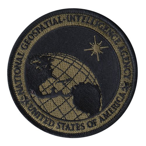 NGA Department of Defense Custom Patches