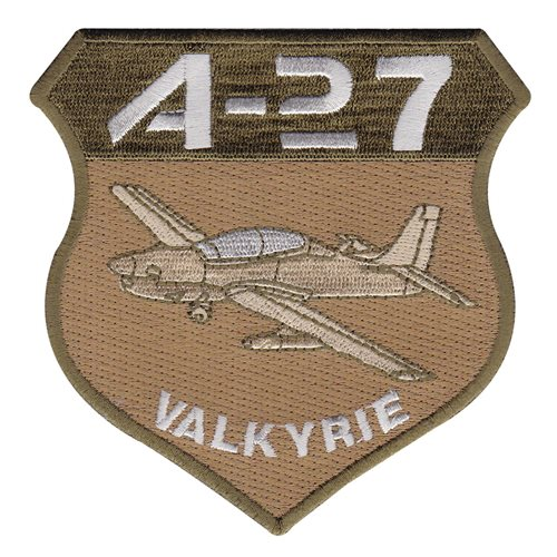 A-27 Patches Aircraft Custom Patches