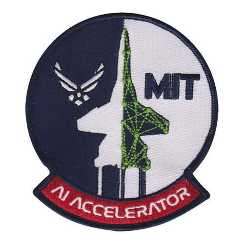 AF & MIT Artificial Intelligence Accelerator Civilian Custom Patches