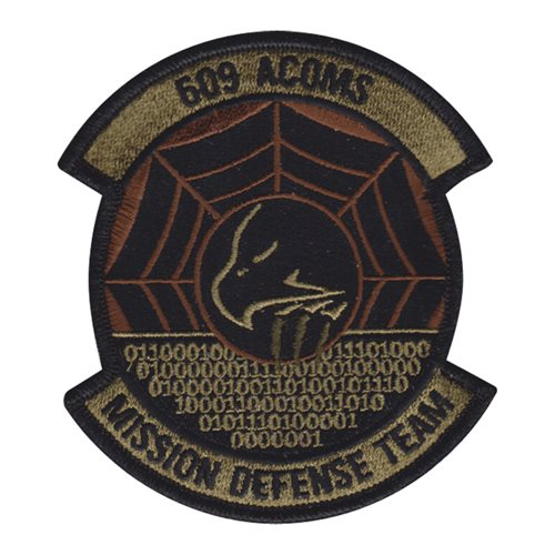 609 ACOMS Shaw AFB, SC U.S. Air Force Custom Patches