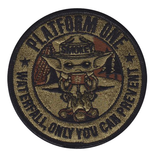 Platform ONE Department of Defense Custom Patches