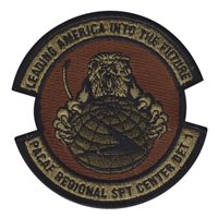 Pacific Air Forces Regional Support Center Custom Patches