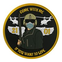 Ft Rucker SUPT-H Class 21-01 Custom Patches