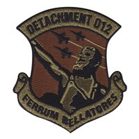 AFROTC Det 012 Patches