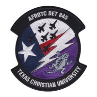 AFROTC Det 845 Texas Christian University Custom Patches