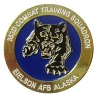 Eielson AFB Challenge Coins