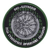 352 COS Custom Patches