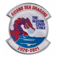 Aviano Sea Dragons Custom Patches