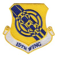 15th Wing (15 WG) Custom Patches