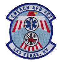 Creech AFB FES Patches