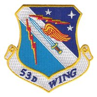 53rd Wing (53 WG) Custom Patches