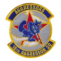 18th Aggressor Squadron (8 AGRS) Custom Patches