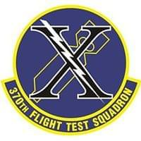 370th Flight Test Squadron (370 FLTS) Custom Patches