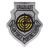 USAF Weapons School Graduate Patches
