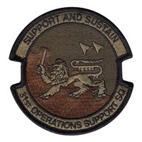31st Operations Support Squadron (31 OSS) Custom Patches