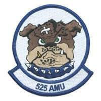 525 AMU Patches