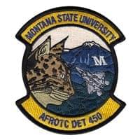 AFROTC Det 450 Montana State University Patches