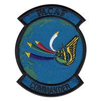 HQ PACAF Custom Patches