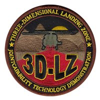 Three-Dimensional Landing Zone (3D-LZ) Custom Patch